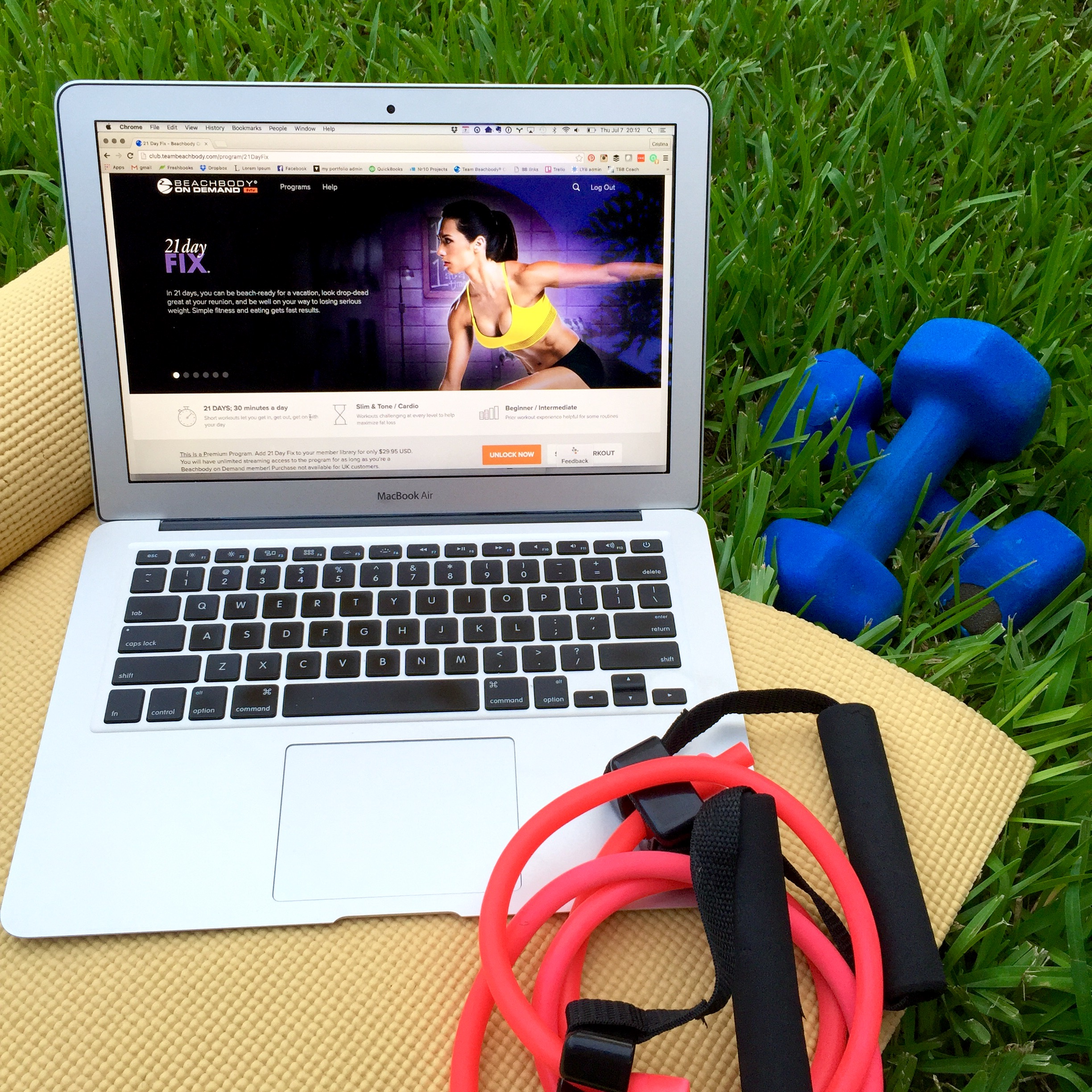 How to use Beachbody On Demand to see sample workouts for free